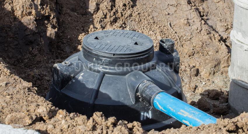 Емкость под септик пластиковый для канализации